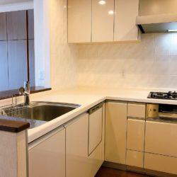 L字型の対面式キッチンキッチン