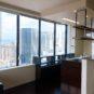 キッチン キッチンの窓側はパノラマの眺望が広がり、開放感に溢れています