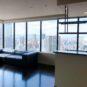 上層階、角部屋で眺望良好のリビング