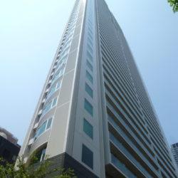 地上50階建ての超高層タワーマンション外観